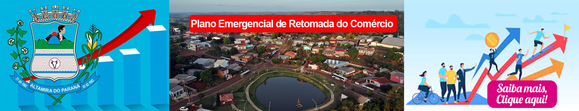 PLANO EMERGENCIAL RETOMADA COMÉRCIO LOCAL